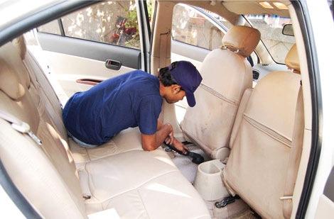 auto salona tīrīšana - akcija