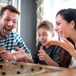 galda spēles ģimenei